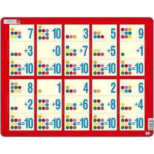 "Larsen (AR13) - ""Math"" - 10 Teile Puzzle"