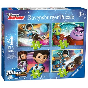 "Ravensburger (07012) - ""Miles From Tomorrow"" - 12 16 20 24 Teile Puzzle"