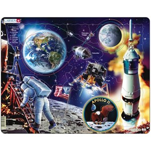 "Larsen (NB5) - ""Apollo 11"" - 50 Teile Puzzle"