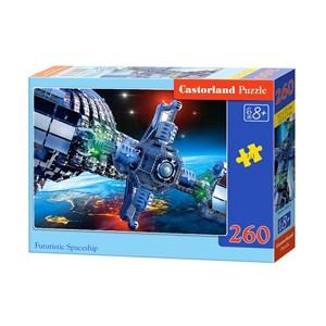 """Castorland (B-27408) - """"Futuristische Raumstation"""" - 260 Teile Puzzle"""