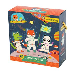 "Chronicle Books / Galison - ""Space Explorers"" - 25 Teile Puzzle"