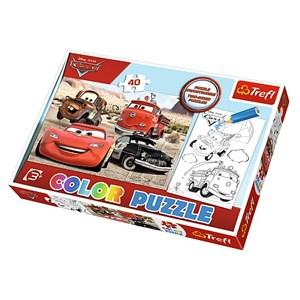 "Trefl (36514) - ""Cars"" - 40 Teile Puzzle"