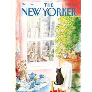 "New York Puzzle Co (NPZNY1708) - ""Katzenpause"" - 1000 Teile Puzzle"