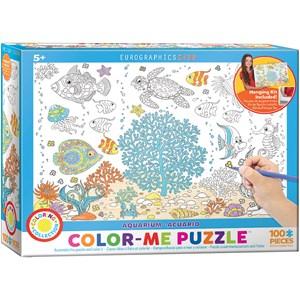 """Eurographics (6111-0894) - """"Aquarium"""" - 100 Teile Puzzle"""