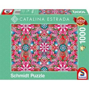"""Schmidt Spiele (59586) - Catalina Estrada: """"Roter Rosenstock"""" - 1000 Teile Puzzle"""