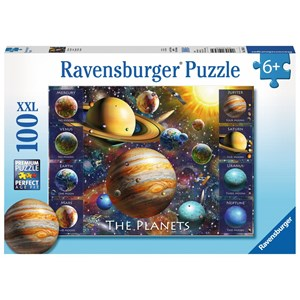 "Ravensburger (10853) - ""The Planets"" - 100 Teile Puzzle"