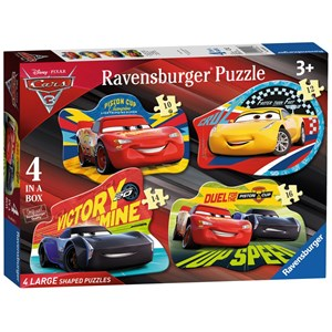 "Ravensburger (06891) - ""Cars 3"" - 10 12 14 16 Teile Puzzle"