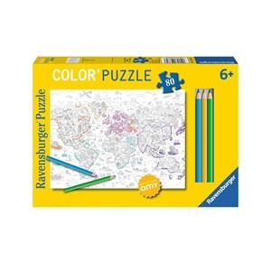"""Ravensburger (10735) - """"Atlas"""" - 80 Teile Puzzle"""