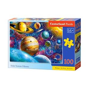 "Castorland (B-111077) - ""Solar System Odyssey"" - 100 Teile Puzzle"