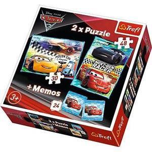 """Trefl (90706) - """"Cars + Memo"""" - 30 48 Teile Puzzle"""