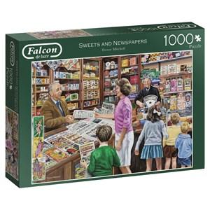 "Falcon (11236) - ""Kiosk"" - 1000 Teile Puzzle"