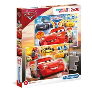 """Clementoni (07027) - """"Disney, Cars 3"""" - 20 Teile Puzzle"""
