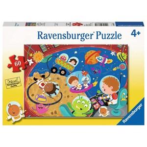 """Ravensburger (08677) - """"Reise im Raum"""" - 60 Teile Puzzle"""