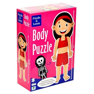 """Barbo Toys (5940) - """"Girl Body Puzzle"""" - 26 Teile Puzzle"""