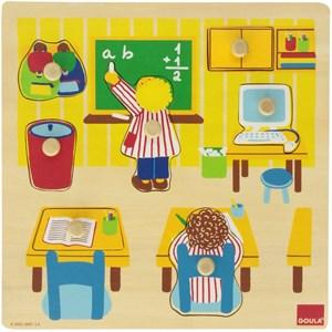 """Goula (53035) - """"Schule"""" - 7 Teile Puzzle"""