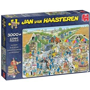 """Jumbo (19198) - Jan van Haasteren: """"The Winery"""" - 3000 Teile Puzzle"""