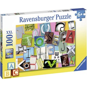 "Ravensburger (10761) - ""Lustiges Alphabet"" - 100 Teile Puzzle"
