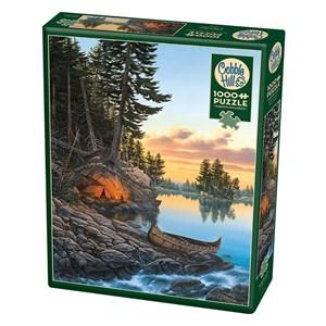 """Cobble Hill (80179) - Derk Hansen: """"Evening Glow"""" - 1000 Teile Puzzle"""