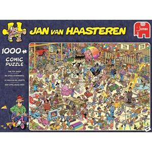 """Jumbo (19073) - Jan van Haasteren: """"Das Spielzeuggeschäft"""" - 1000 Teile Puzzle"""