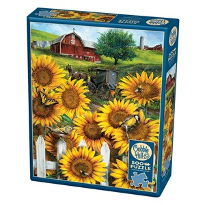 "Cobble Hill (85046) - Tom Wood: ""Country Paradise"" - 500 Teile Puzzle"