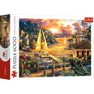 """Trefl (65005) - """"Catching Dreams"""" - 6000 Teile Puzzle"""