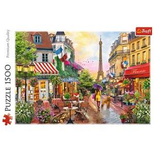 "Trefl (26156) - ""Pariser Charme"" - 1500 Teile Puzzle"