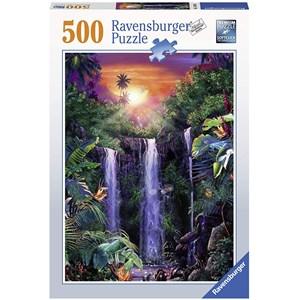 """Ravensburger (14840) - """"Traumhafte Wasserfälle"""" - 500 Teile Puzzle"""