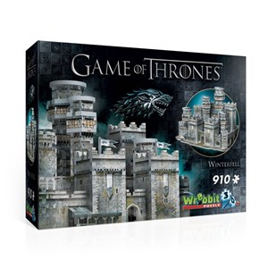"Wrebbit (W3D-2018) - ""Game of Thrones, Winterfell"" - 910 Teile Puzzle"