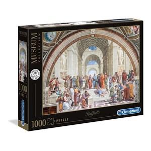 """Clementoni (39483) - Raphael: """"Die Schule von Athen"""" - 1000 Teile Puzzle"""