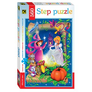 """Step Puzzle (78099) - """"Aschenputtel"""" - 560 Teile Puzzle"""