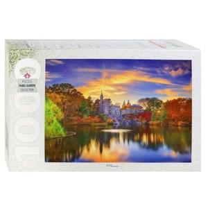 """Step Puzzle (79138) - """"Belvedere Castle, Central Park, Manhattan"""" - 1000 Teile Puzzle"""