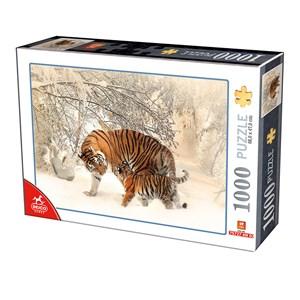 "Deico (75987) - ""Tigers"" - 1000 Teile Puzzle"