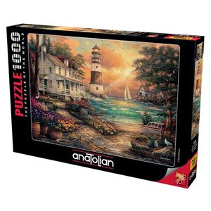 """Anatolian (1075) - """"Cottage by the Sea"""" - 1000 Teile Puzzle"""