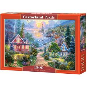"Castorland (C-151929) - ""Coastal Living"" - 1500 Teile Puzzle"