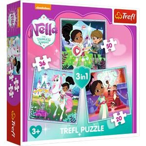"""Trefl (34835) - """"Nella"""" - 20 36 50 Teile Puzzle"""