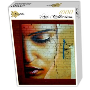 "Grafika (00655) - ""African Face"" - 1000 Teile Puzzle"