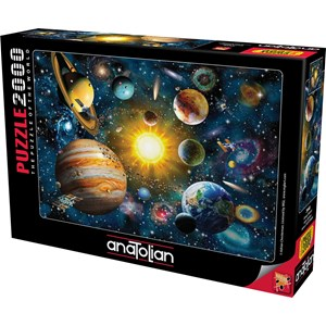 "Anatolian (3946) - Adrian Chesterman: ""Solar System"" - 2000 Teile Puzzle"