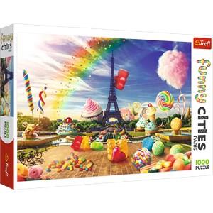 """Trefl (10597) - """"Sweet Paris"""" - 1000 Teile Puzzle"""
