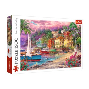 """Trefl (26158) - """"On the Golden Shores"""" - 1500 Teile Puzzle"""
