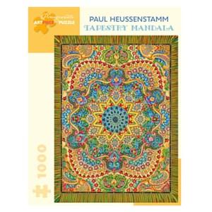 "Pomegranate (aa1046) - Paul Heussenstamm: ""Tapestry Mandala"" - 1000 Teile Puzzle"
