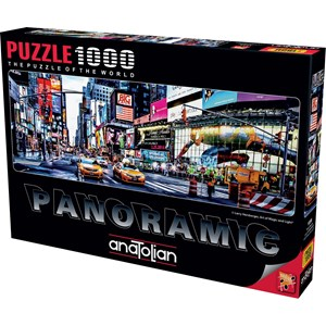 "Anatolian (1059) - Larry Hersberger: ""Times Square"" - 1000 Teile Puzzle"