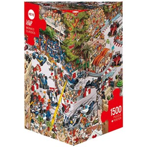 "Heye (29923) - Jean-Jacques Loup: ""Monaco Classics"" - 1500 Teile Puzzle"
