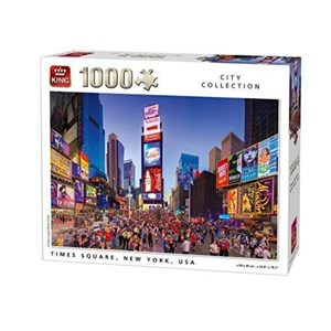 "King International (05707) - ""Times Square, New York"" - 1000 Teile Puzzle"
