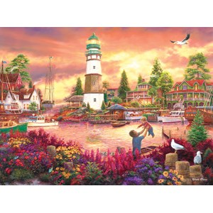 """SunsOut (33749) - Chuck Pinson: """"Love Lifted Me up"""" - 1000 Teile Puzzle"""