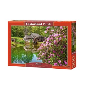 """Castorland (B-53490) - """"Mill by the Pond"""" - 500 Teile Puzzle"""