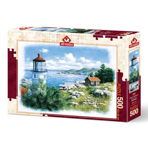 "Art Puzzle (5076) - ""Lantern on the Shore"" - 500 Teile Puzzle"