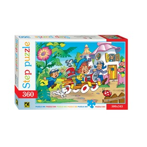 """Step Puzzle (73007) - """"Dunno"""" - 360 Teile Puzzle"""