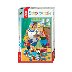"""Step Puzzle (73005) - """"Karlsson-on-the-Roof"""" - 360 Teile Puzzle"""