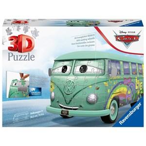 "Ravensburger (11185) - ""Volkswagen T1, Cars"" - 162 Teile Puzzle"