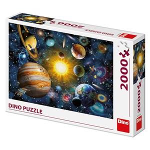 """Art Puzzle (56116) - """"Sonnensystem"""" - 2000 Teile Puzzle"""